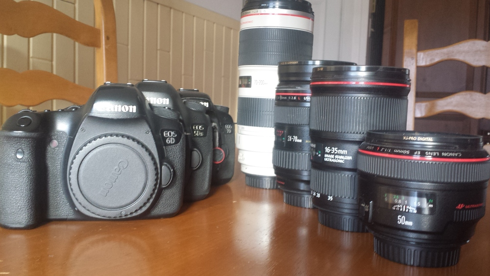 The whole extended family. I do not use the loyal 7D anymore but we've been through a lot during all these years.