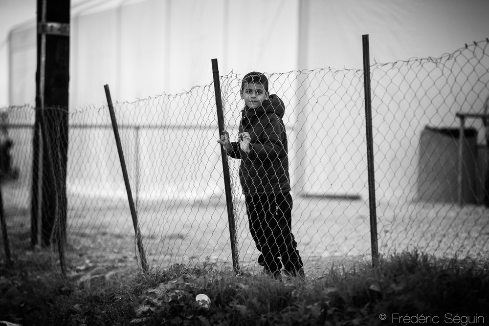 October 2015 in Idomeni, not the humanitarian disaster it is at the moment with the closed border
