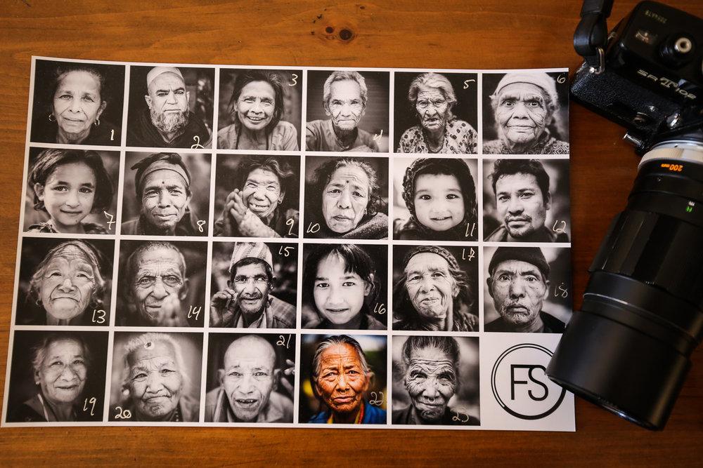 Les Regards du Népal, après les secousses. Cliques sur la photo, choisis le format, cliques suivant et entres le # numéro correspondant. Offerts à la vente pour la dernière fois.