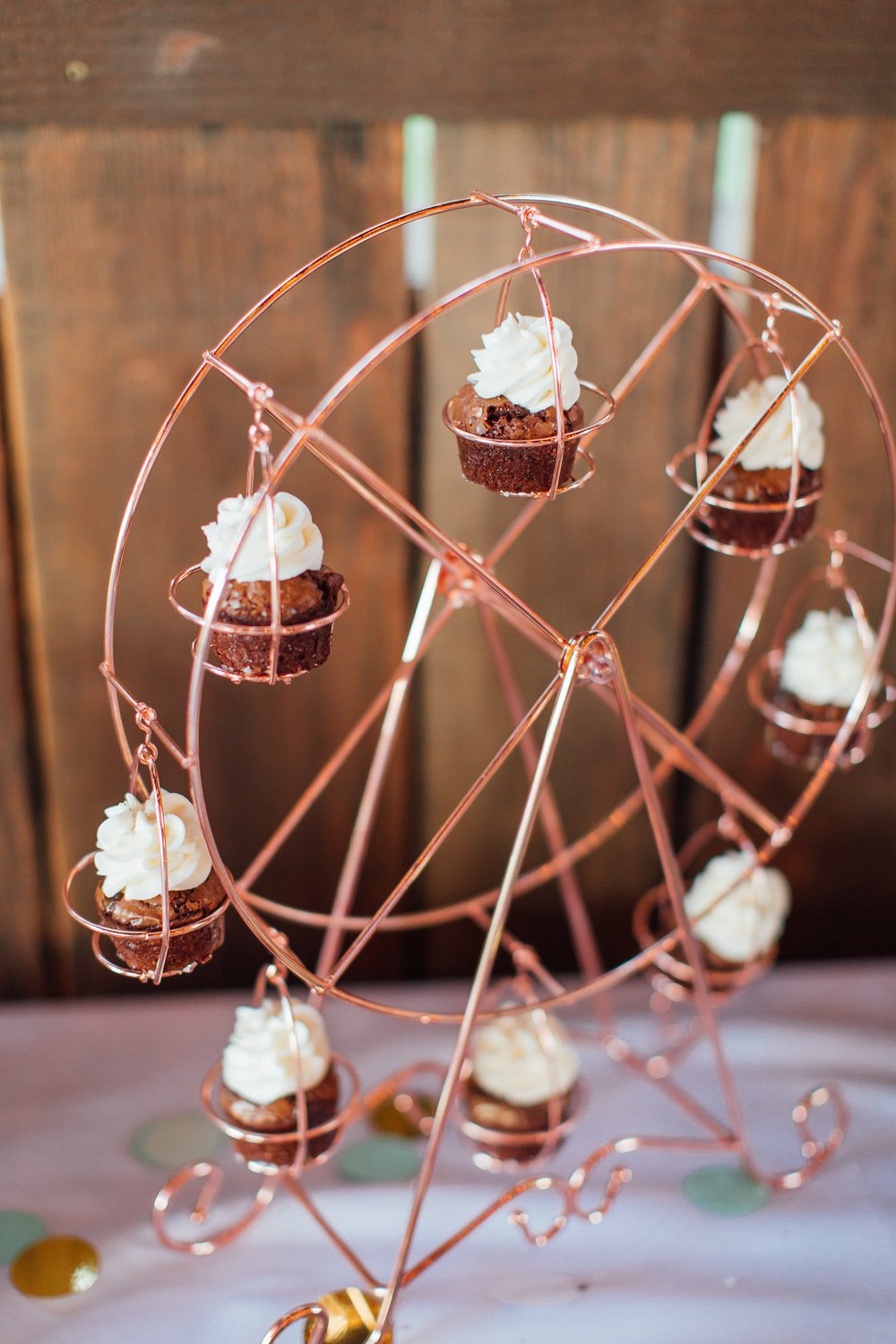 Copper Cupcake Wheel