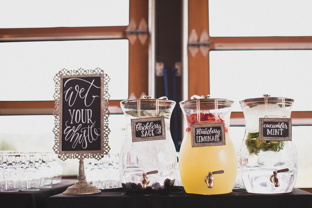 Hanging Drink Signs