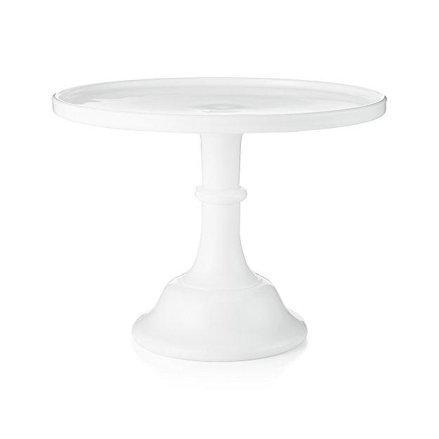 White Mosser Pedestal