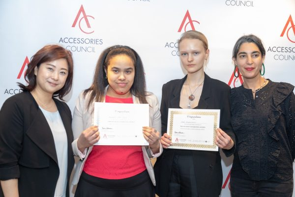 Accessories Magazine, MAY 2018:  I was awarded the Accessories Council's Next Generation Award for Outstanding Fashion Jewelry Design (2nd Place).  Anni Jurgenson  won 1st Place! So happy to share this with her. Read all about via the link: https://www.accessoriesmagazine.com/fit-presents-next-gen-awards-2018/