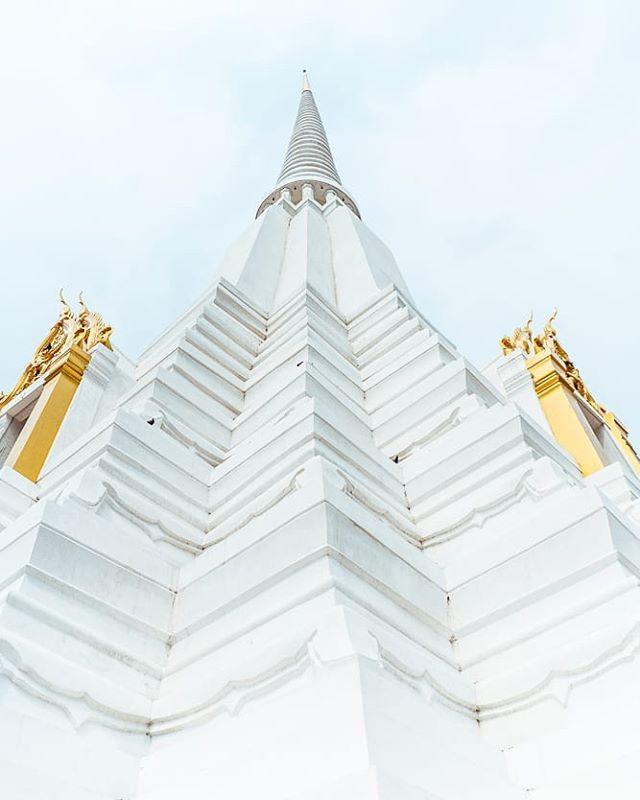 Chedi Phukhao Thong.  #Temple #Bangkok #Thailand #Travel #SonyA7RII #NicholaiGoPhotography