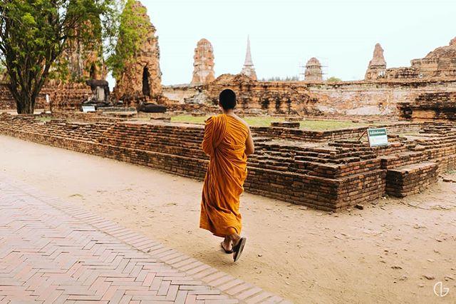 #Monk #Temple #Bangkok #Thailand #Travel #SonyA7RII #NicholaiGoPhotography