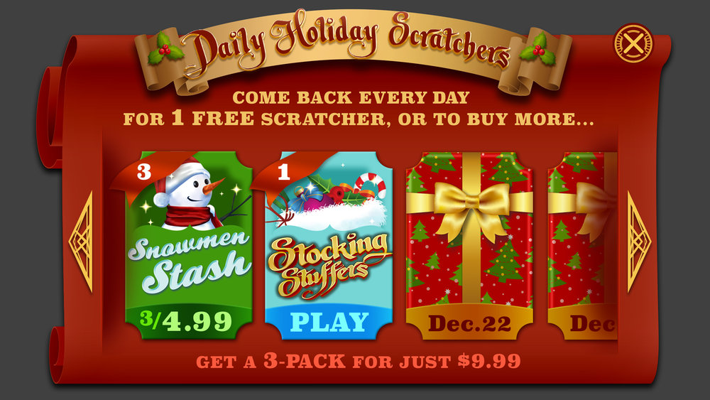 Holiday Scratchers - 2016