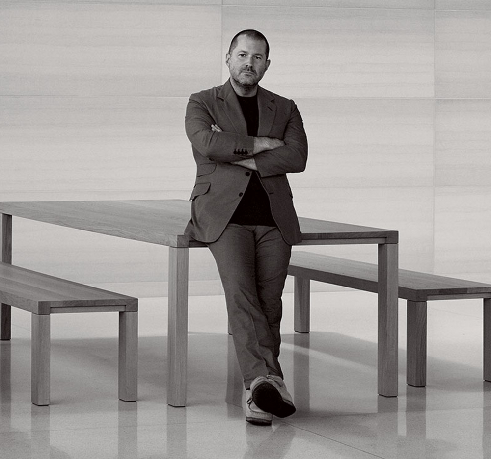 Apple's new marketing strategy has relied heavily on positioning Jony Ive as leader of an industrial design team that uses collaboration to create products.  Photo:  Vogue