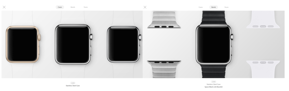 Apple's New Apple Watch Interactive Gallery.
