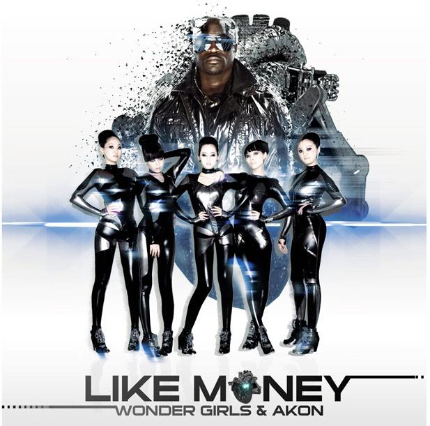 "WONDER GIRLS        ""Like Money ft. Akon"""