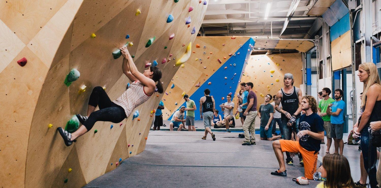 birmingham's climbing gyms
