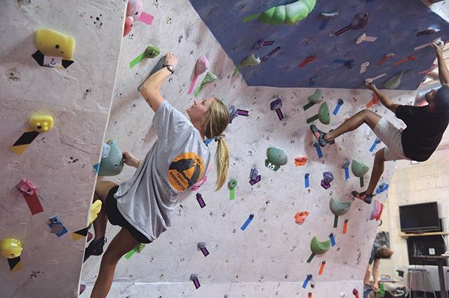 Remember, ladies...tonight is half-off day passes for you! We'll also be running another Women's 101 Clinic and Wine-Down Wednesday next week, on November 14th, from 6:00-8:00 over at @bhamboulders ! Join us for some sweet climbing tonight! // . . . . . #rockclimbing #climbon #climbing_pictures_of_instagram #climbing #bouldering #downtownbham #climbingisbliss #climbinginspiration #alabama #firstavenuerocks #firstaverocks #accessfund #liveclimbrepeat #instagrambham #happyclimbing #climb #rockclimber #themagiccity #birmingham #climbinggym #boulderinggym