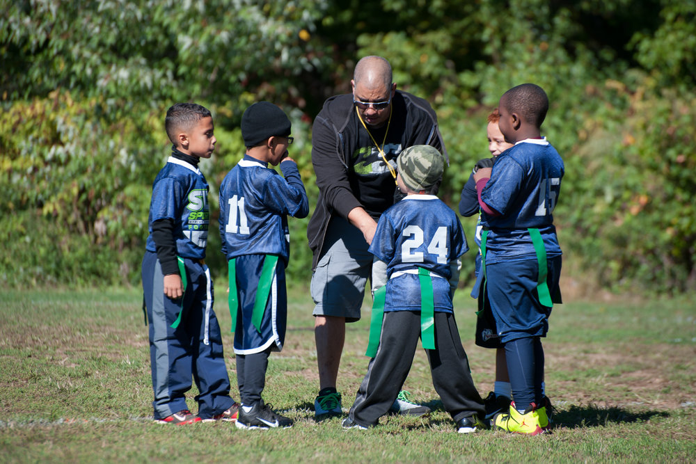 STS Sports - STS is short for Strive To Succeed and is the core of their values. STS creates a diverse skill set for young kids entering the world through sports and team based activities. The only way to convey the joy the kids get out of being in this program, was to photograph one of their events for their website.