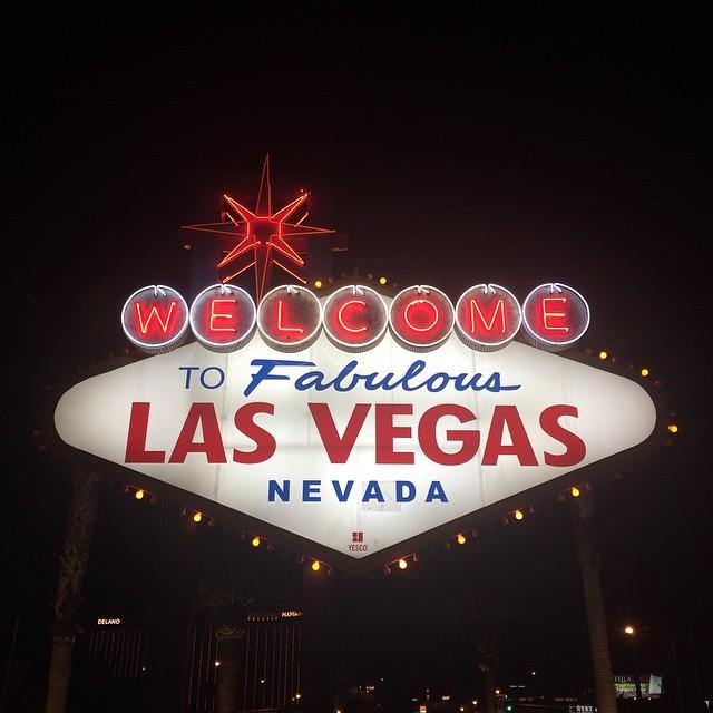 Vegas this week. #touristshot #notmenswear #yolo (at Welcome to Fabulous Las Vegas sign)