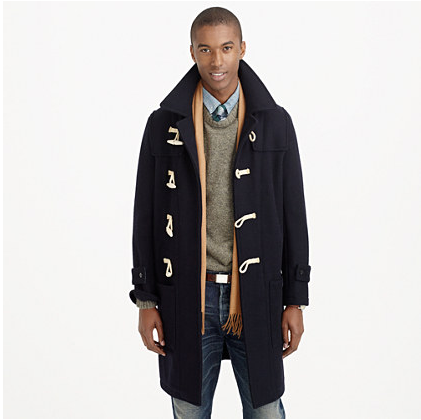 if you're looking for a toggle coat without a hood it looks like jcrew is your place.