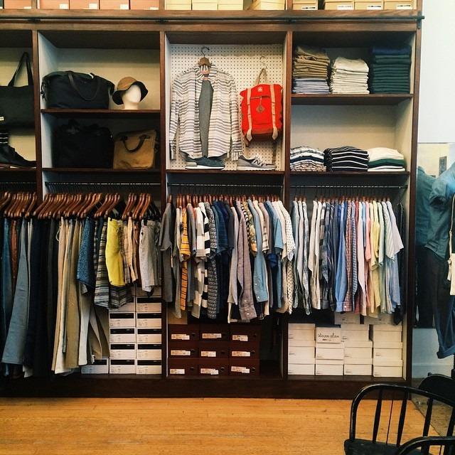 Shop visits. #vsco #stevenalan #menswear  (at Steven Alan Outpost - Upper West Side)