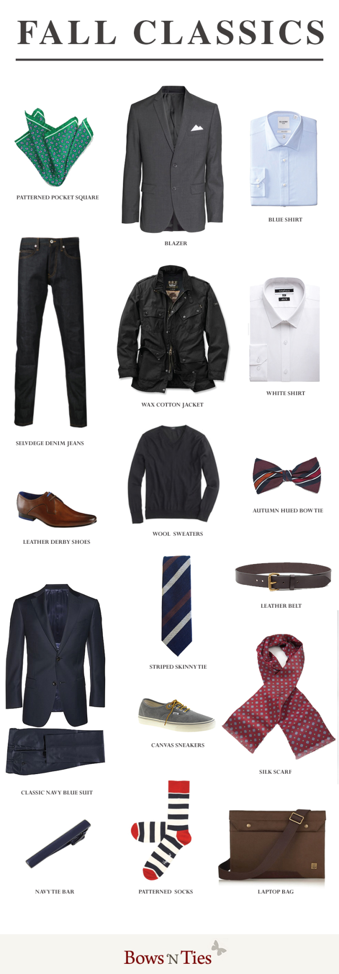 bows-n-ties :     Must Have Fall Menswear Pieces 2014 (via   BNT  )
