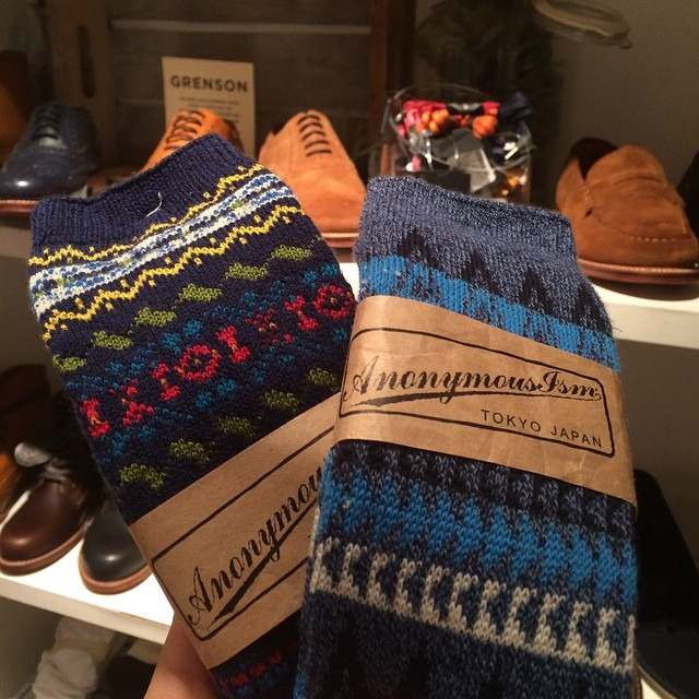 New socks for winter. #anonymousism #menswear #nyc (at Club Monaco 57th Street)