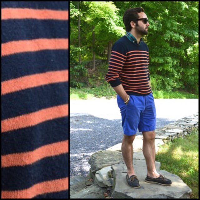August orange. #menswear #wiwt #mensfashion #fashion