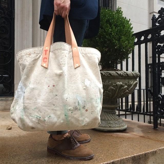 Upper west side with my @black_point_mercantile bag. #menswear #mensfashion #fashion #wiwt #nyc