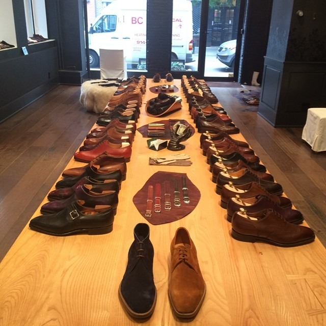 Shoe heaven. #menswear #leffot #nyc  (at Leffot)