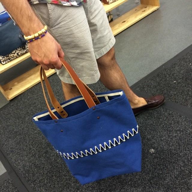 Awesome @caputoandco bags at @capsuleshow. #menswear #nyc