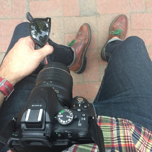 Shooting. #menswear #wiwt  (at City Hall Park)