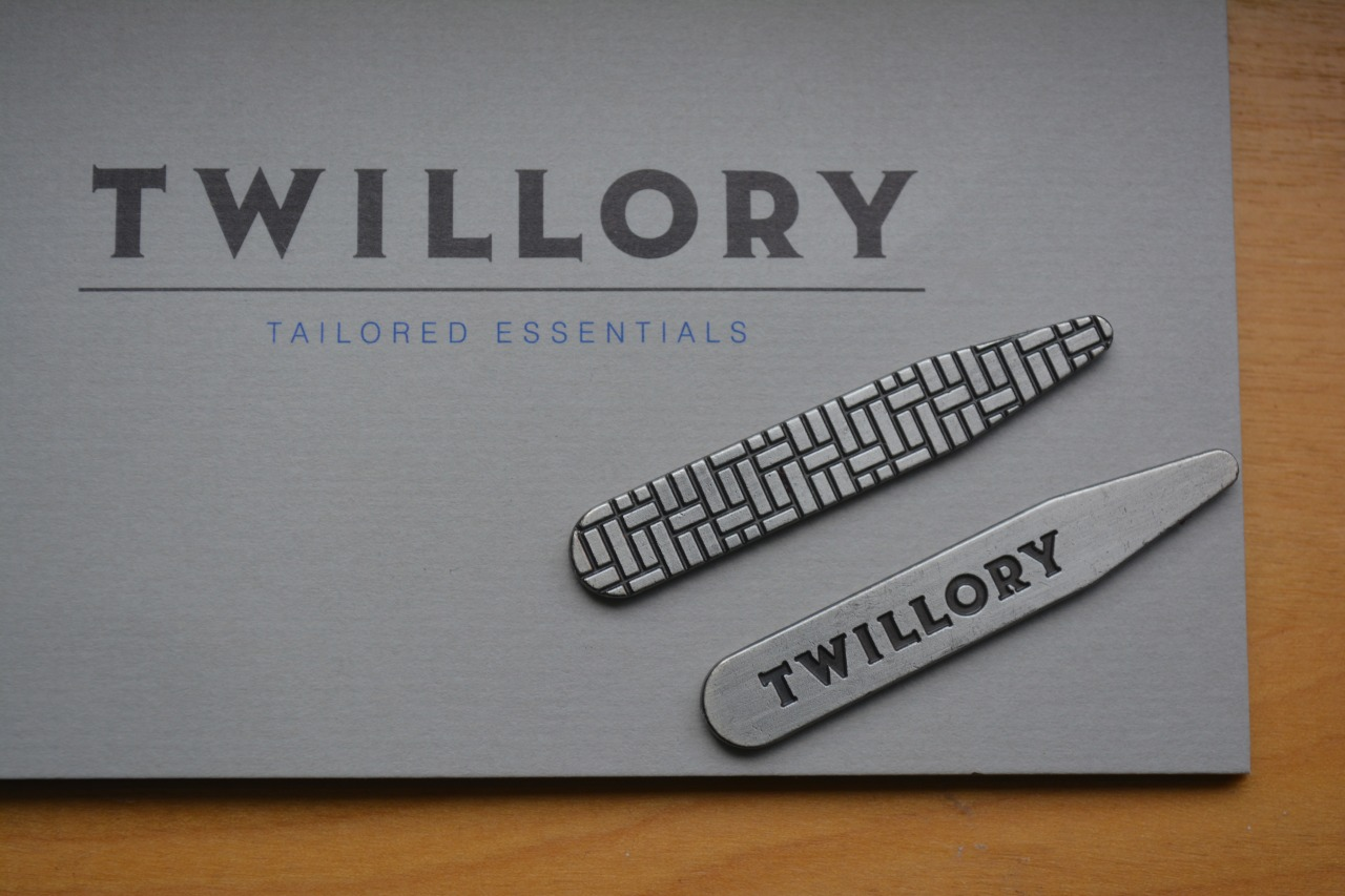Check out these awesome collar stays by  Twillory . Currently, Twillory is a dress shirt company but has plans to sell and create other classic menswear pieces. Unlike other fast fashion stores,  Twillory sells a lot of dress shirts  with a range of different shirt collars. This company believes in selling a high quality product at a quality price and giving people the opportunity to donate their old clothes to charity.