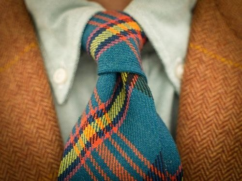 i love plaid ties.