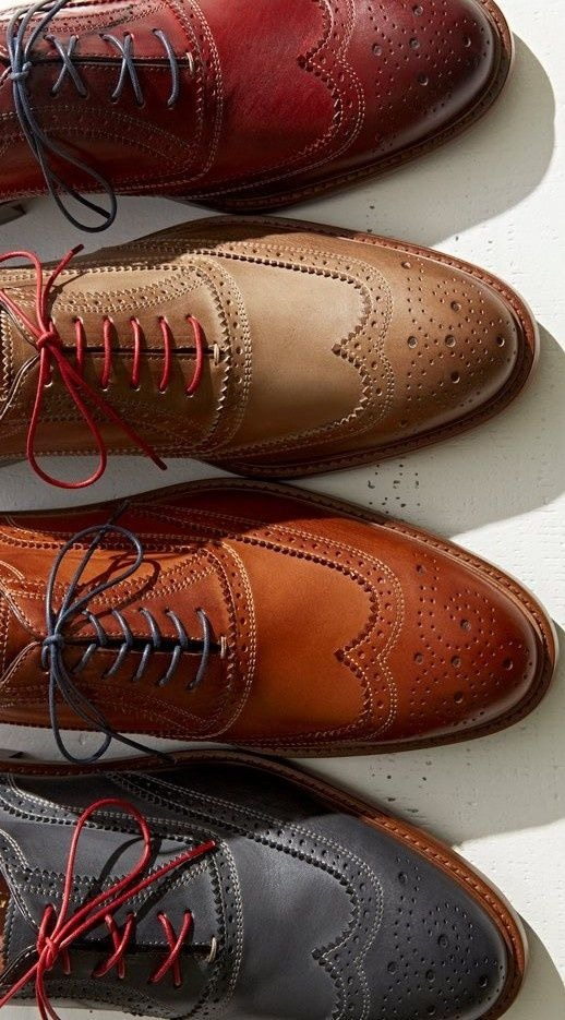 if you dont have wingtips with colored laces i suggest you get a pair ASAP.