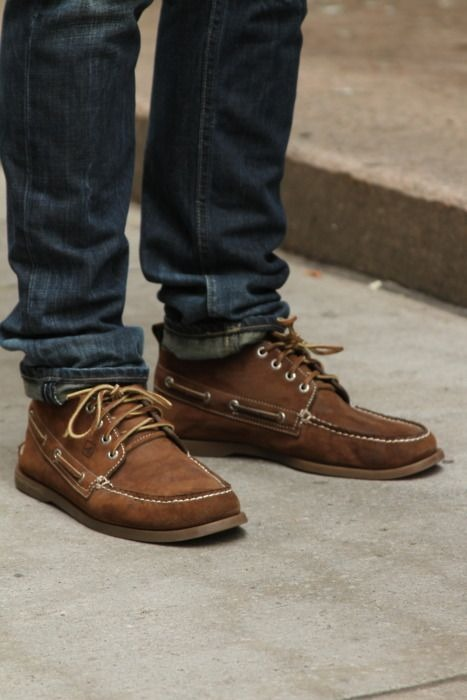 these sperry chukkas are both awesome and comfortable.