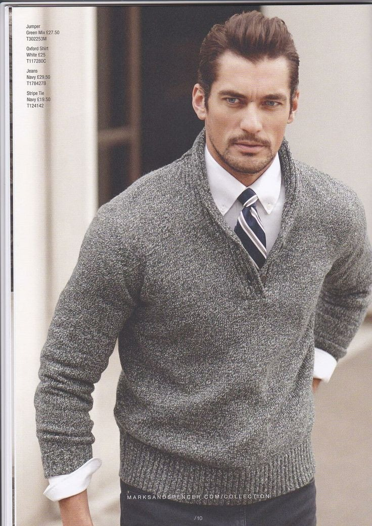 every man should own a sweater similar to this.