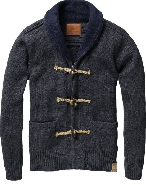 every man needs a cardigan like this.