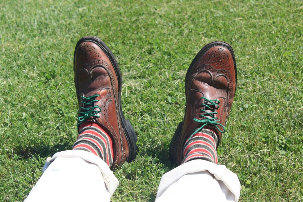 Summertime sockness.