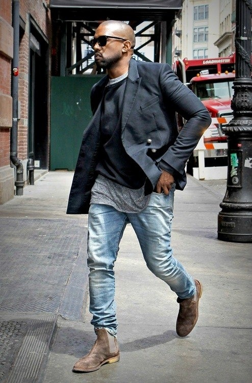 this actually isnt a bad look. im surprised this is kayne