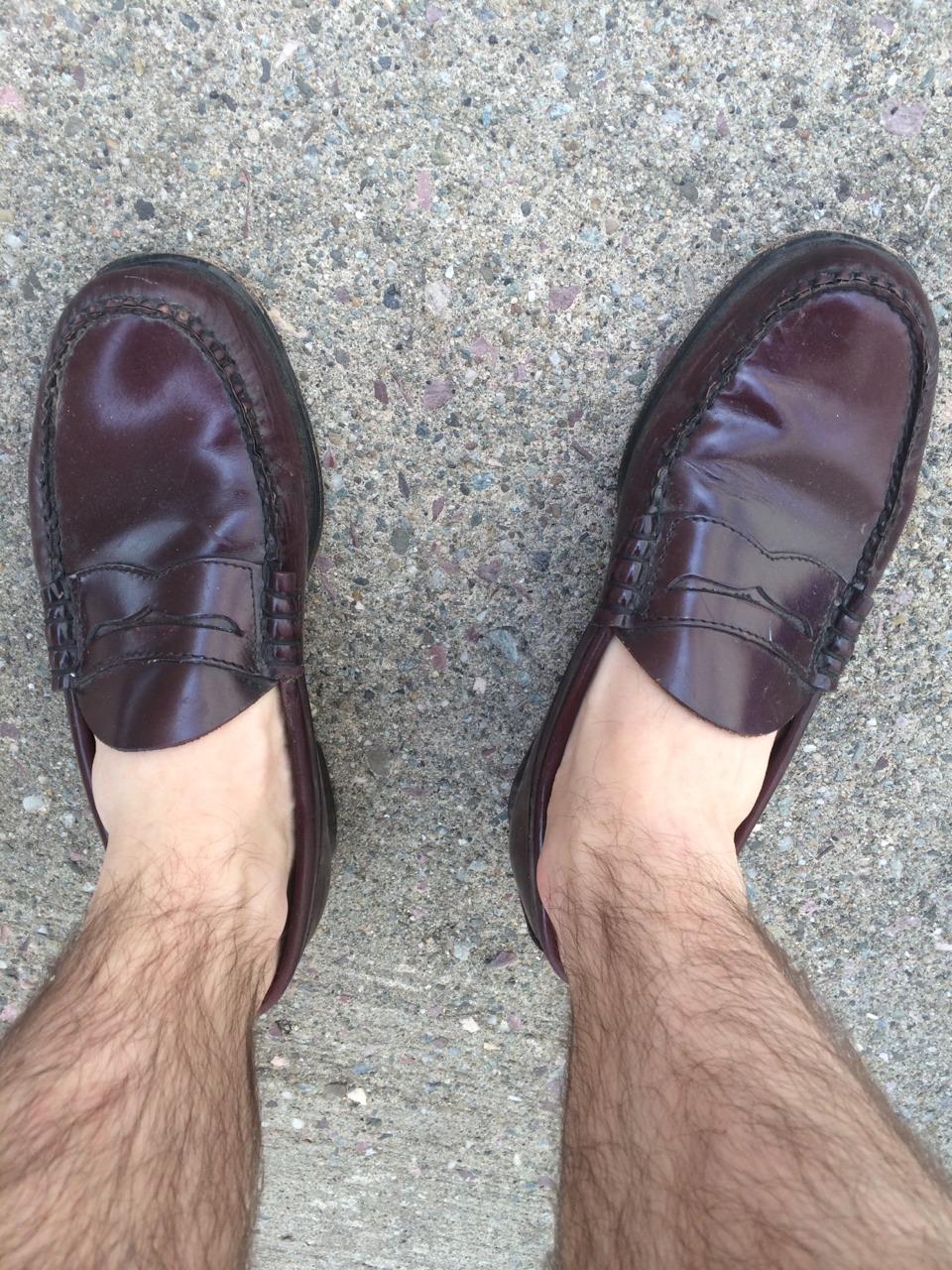 Sockless!