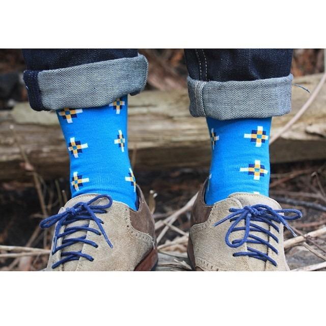 More @richerpoorer socks thanks to @sockingbehaviour. 📷= matt_a_wicks. #menswear #mensfashion #fashion #wiwt #ootd #ootn #colehaan #richerpoorer #levis #beyondbasics #sockingbehaviour #featuremensfashion #brothersandcraft