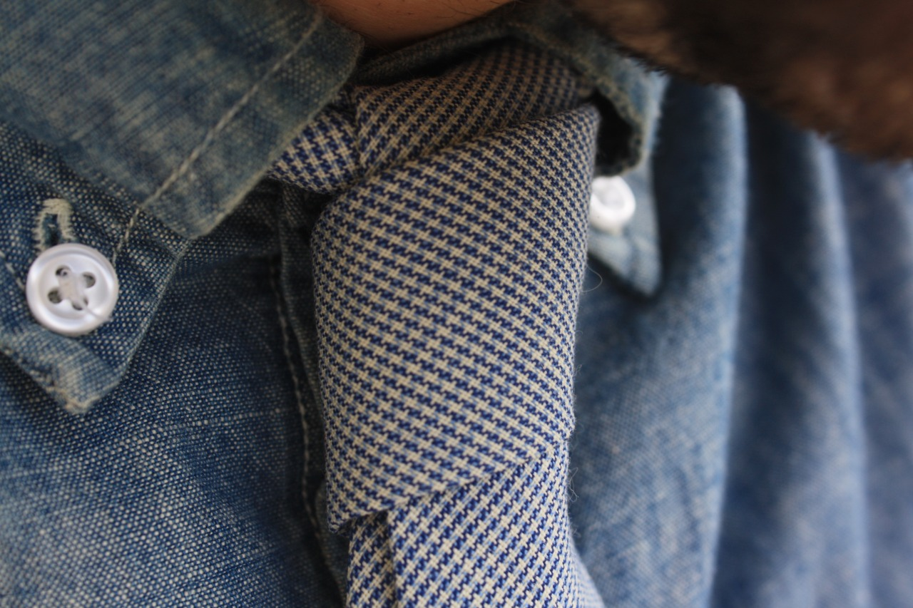 Check out this  awesome tie  from  Field Aesthetic .