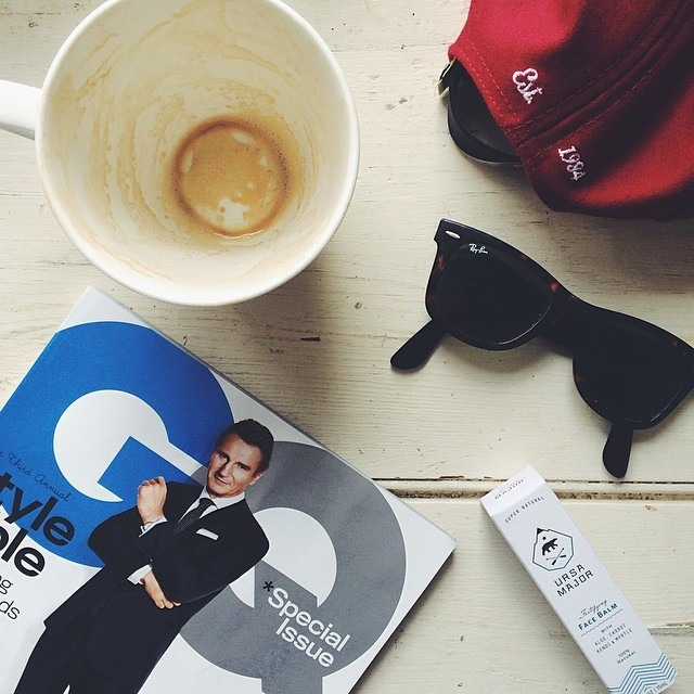 Saturday. #vscocam #menswear #rayban #gq #ursamajor #stumptowncoffee #dananddave #brothersandcraft #featuremensfashion