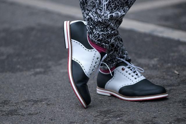 fancy footwork.