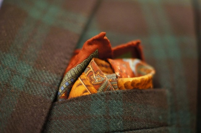 really beautiful pocket square.