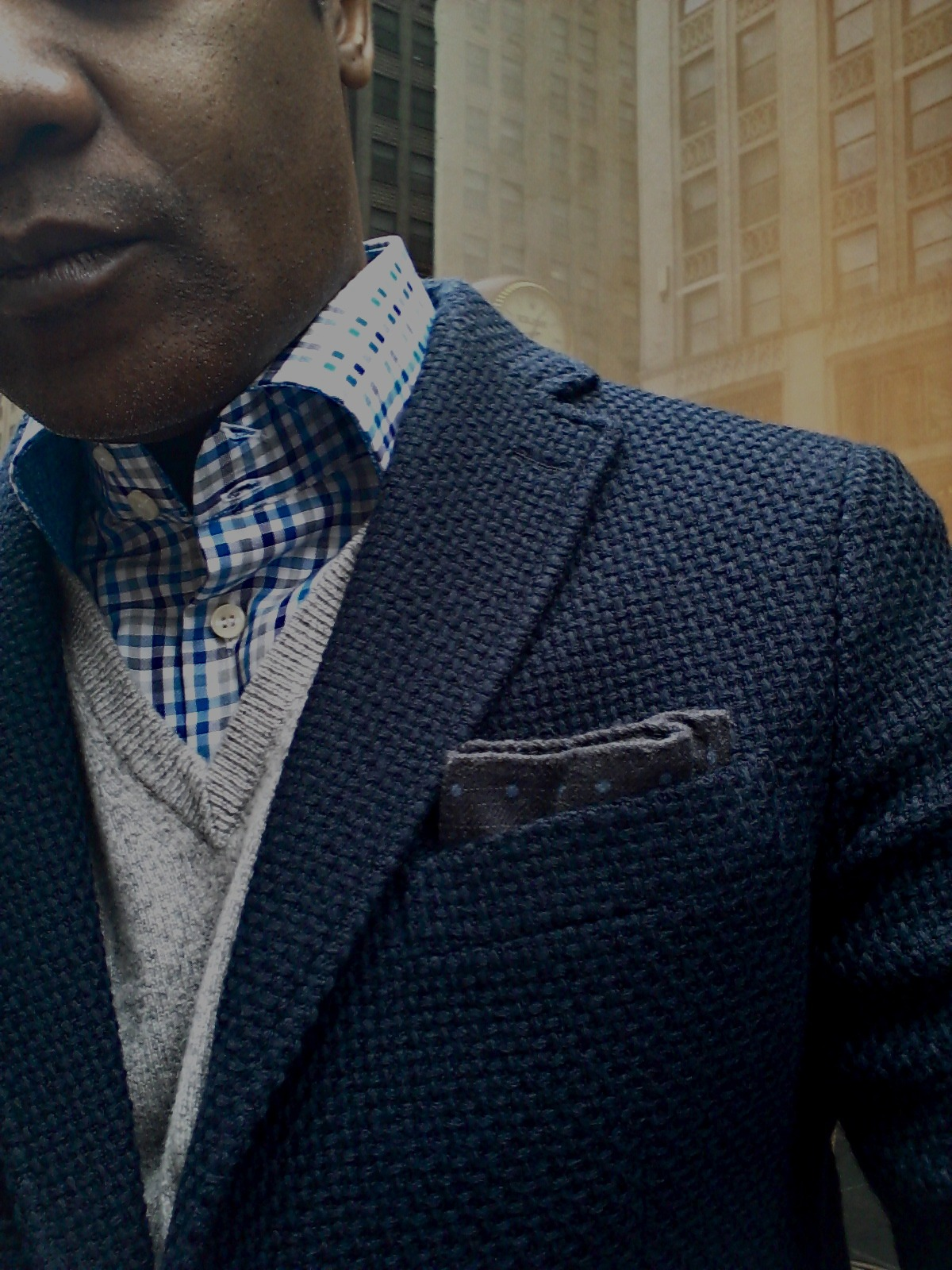 awesome fabric on this blazer!