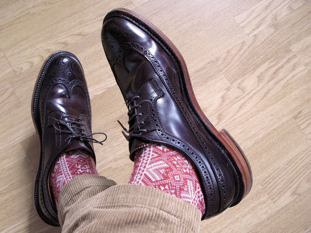 festive socks!