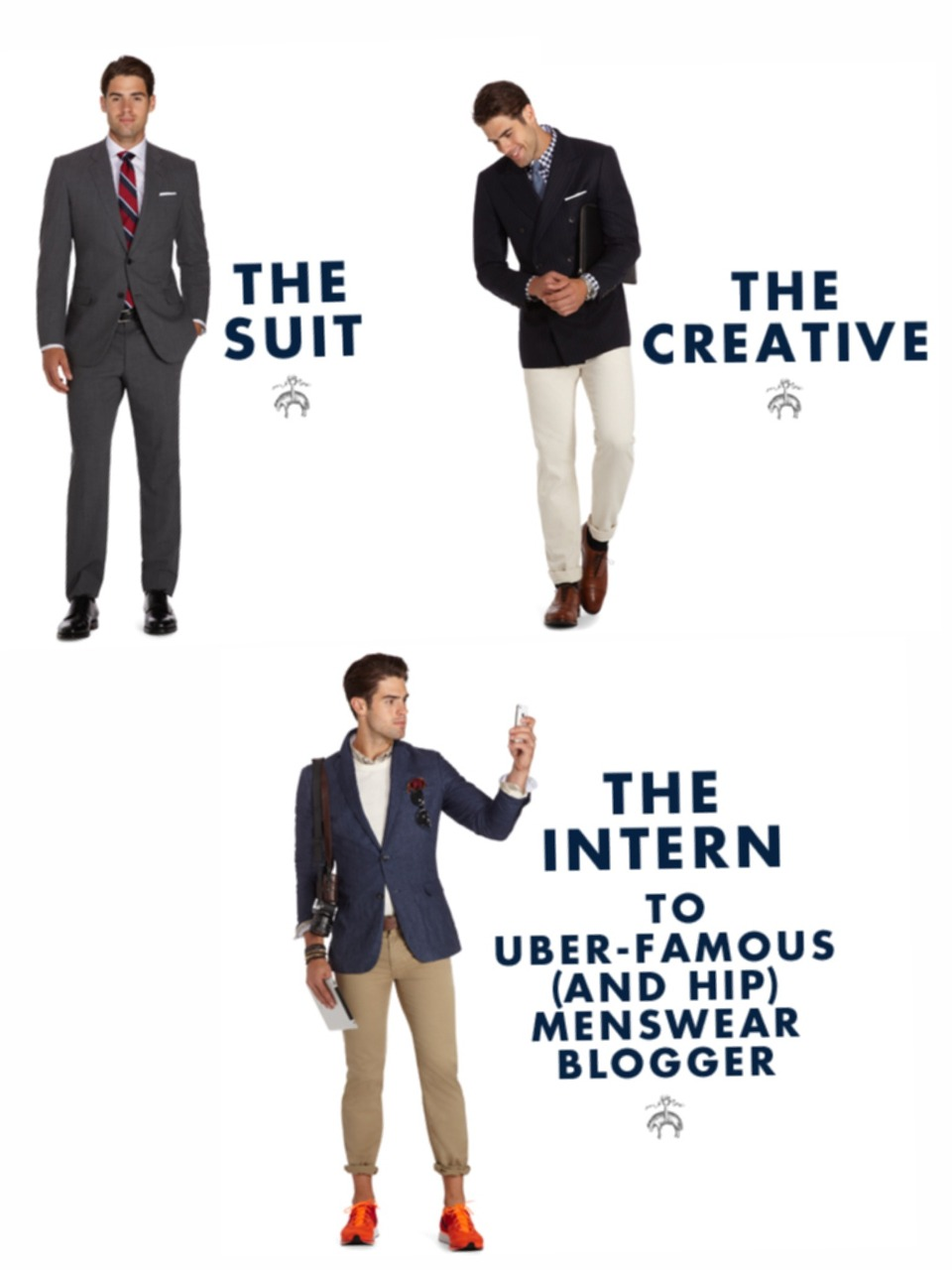 imdefinitelythe bottom one here and i have no problem expressing that through how i dress on a daily basis.