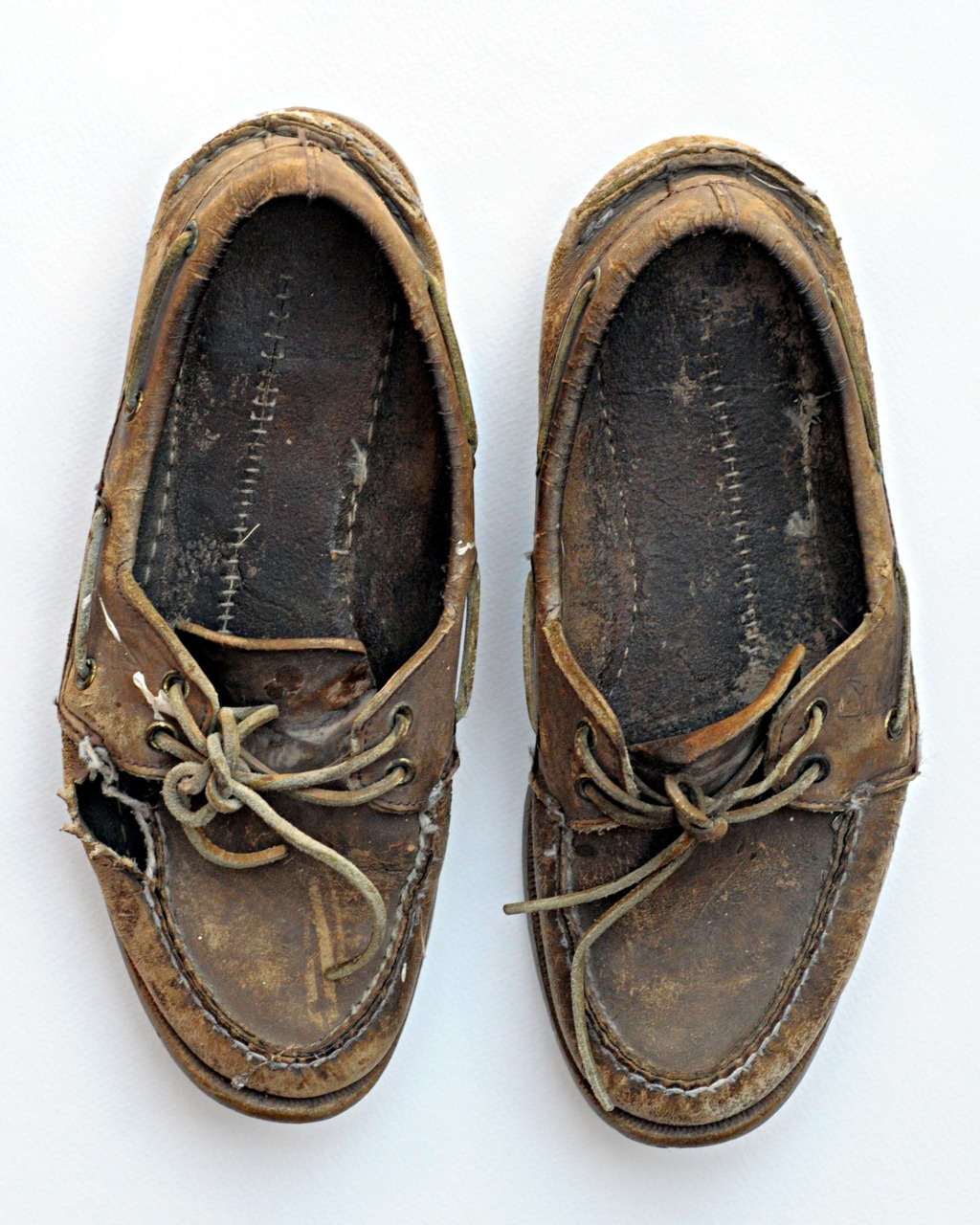 i hope my boat shoes one day get like this.