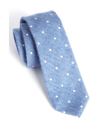i need to wear my polka dot tie this winter.