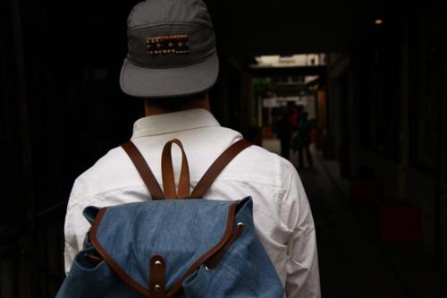 nice bag, stupid hat.