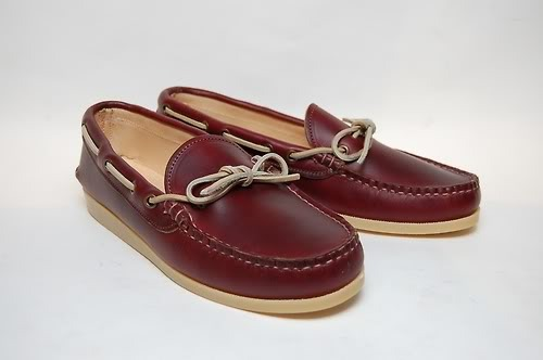 call me weird but i dont like boat shoes with the eyelets on the side. i think it looks better more on the top.