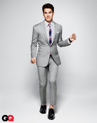 not a glee fan but i really like this suit.
