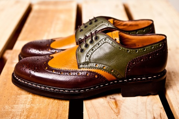 interesting brogues!