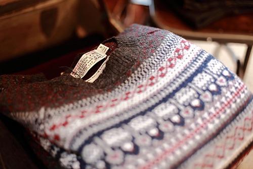 vintage sweater.